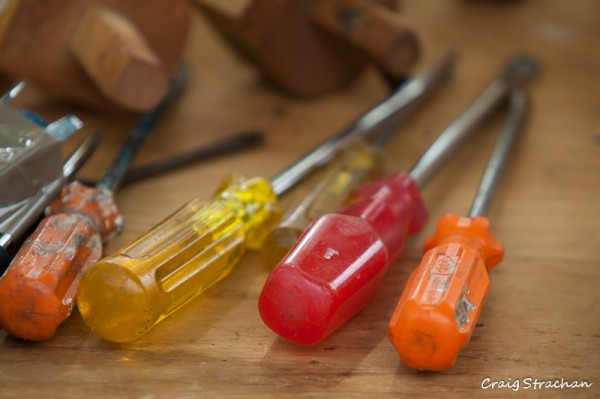 Old screwdrivers