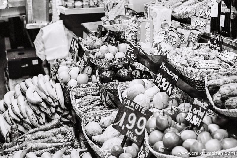 Market of la Boqueria, Barcelona.
