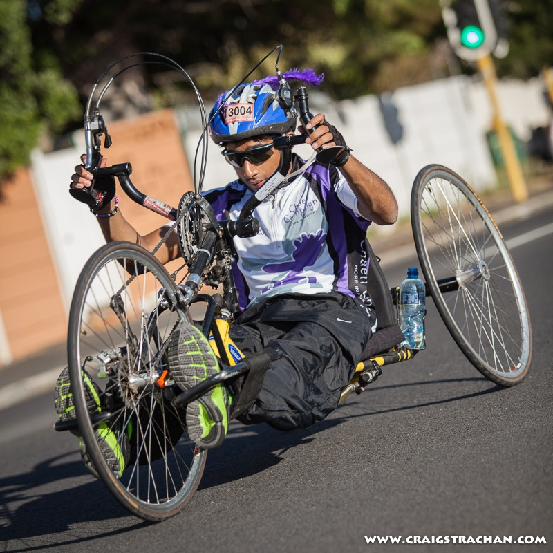 Argus Cycle Tour Hand Cyclist